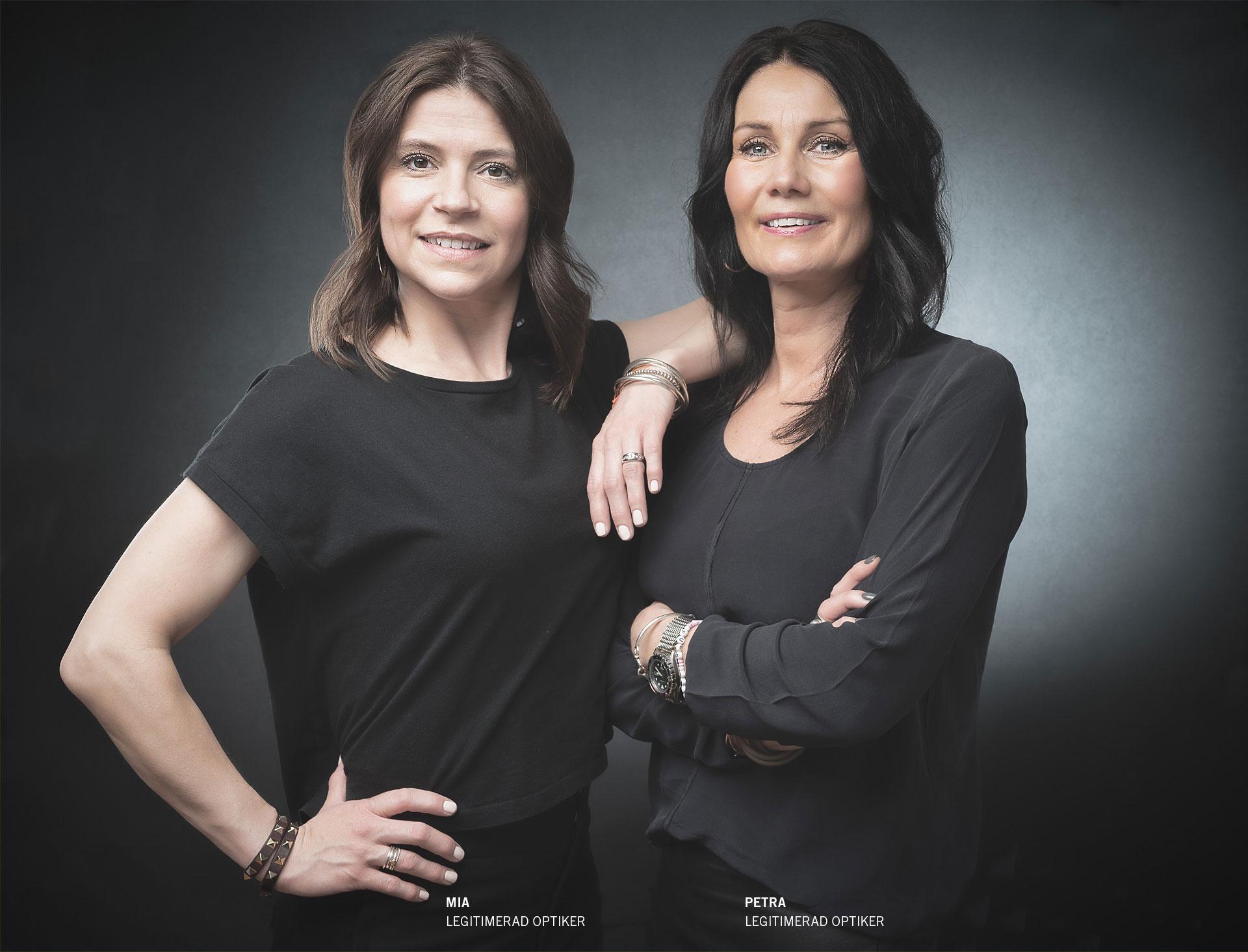 Mia och Petra
